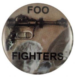 Foo Fighters - 'Gun Group' Button Badge